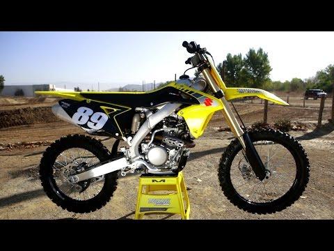 First Ride 2017 Suzuki RMZ 250 - Motocross Action Magazine