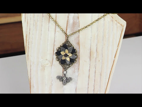 Sizzix Jewelry: How to rivet a flower