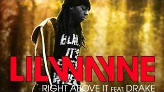 Lil Wayne - Right Above It feat. Drake (Lyrics)
