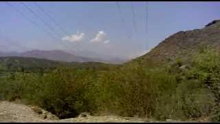 preview picture of video 'downhill from hill club tarbela dam.mp4'