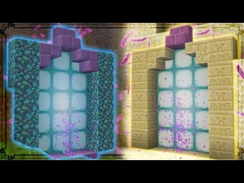 Minecraft | How To Make Custom Portals - Teleport Anywhere In Minecraft!