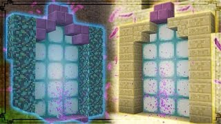 Minecraft   How To Make Custom Portals - Teleport Anywhere In Minecraft!