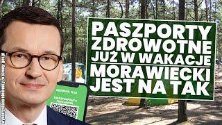 Paszporty Zdrowotne już w te wakacje! Mateusz Morawiecki jest za!