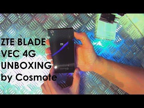 ZTE Blade VEC 4G Unboxing