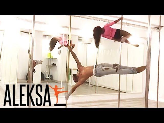 Pole Dance (Пол Дэнс) - Pole Sport - Pole Art. Тренеры Aleksa Studio - танец на пилоне.