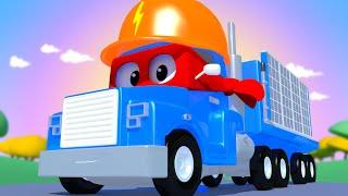 Xe tải NĂNG LƯỢNG MẶT TRỜI - Siêu xe tải Carl 🚚⍟ những bộ phim hoạt hình về xe tải