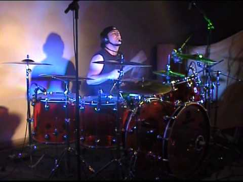 "Federico Castrogiovanni ""Powervintage"" Drum solo 2011"