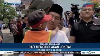 Momen Spesial Kunjungan Kerja Presiden Jokowi di Cianjur