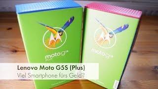 Lenovo Moto G5S & Moto G5S Plus   Zwei Einsteiger-Smartphones im Test [Deutsch]