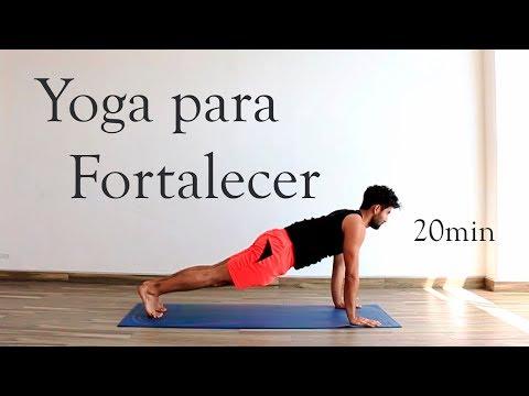 Yoga para fortalecer y tonificar todo el cuerpo | 20 min