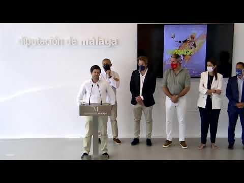 Presentación Internacionales de Pádel de Andalucía FIP PROMISES Málaga