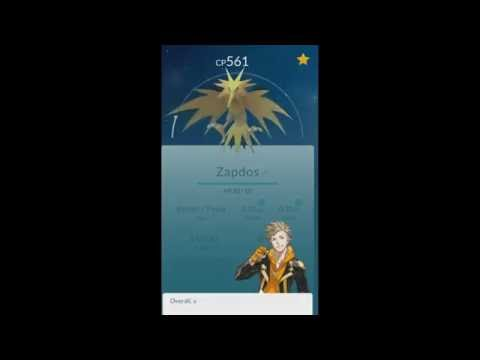 Niantic Didn't Take Away My Zapdos ✔