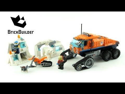Vidéo LEGO City 60194 : Le véhicule à chenilles d'exploration