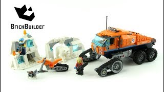 Lego City 60194 Arctic Scout Truck - Lego Speed Build
