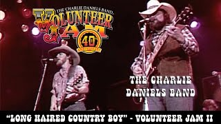 The Charlie Daniels Band - Long Haired Country Boy - Volunteer Jam II