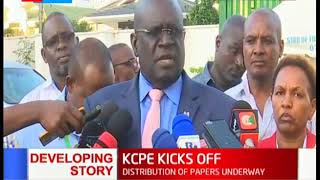 CS MAGOHA: Teenage pregnancy is still an issue, in some exam centres we've deployed ambulances