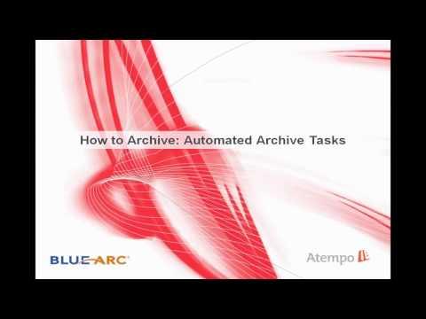 Atempo Digital Archive e BlueArc
