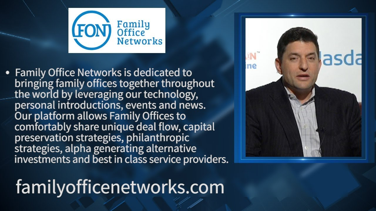 Family Office Networks | Steve Saltzstein | Co- Founder | Co-Investment Platform for Families