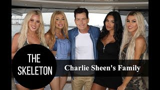 Charlie Sheen's Family: 3 Siblings, 3 Wives and 5 Kids
