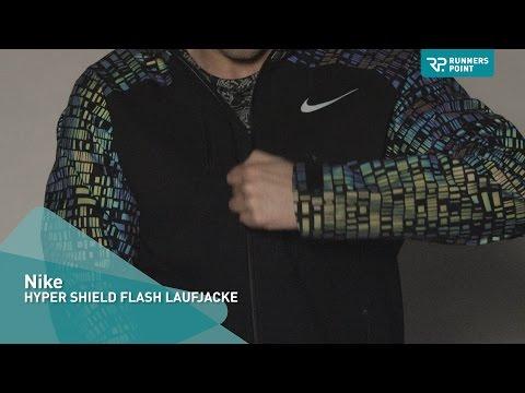 Nike HYPER SHIELD FLASH LAUFJACKE