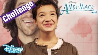 Andi Mack   Sing Along Challenge - Theme Song Game    Disney Channel UK