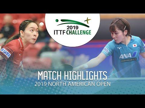 Kasumi Ishikawa vs Miu Hirano | 2019 ITTF North American Open Highlights (Final)