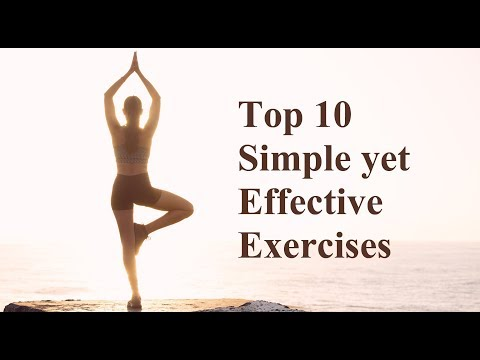 Top 10 Simple yet Effective Exercises