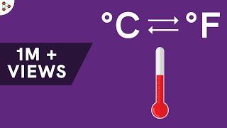 Temperature Conversion Trick (Fahrenheit Celsius)