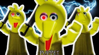 PLAYING As BIG BIRD...Roblox PIGGY Is A TERRIFYING BIRD! Roblox Piggy Fan Game (ROBLOX PUPPET)