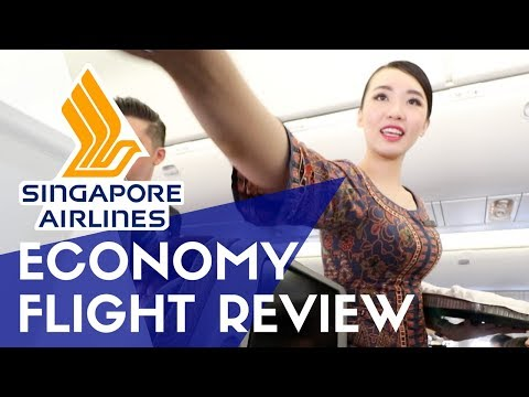 Singapore Airlines Economy Flight Review | Is it Worth It?