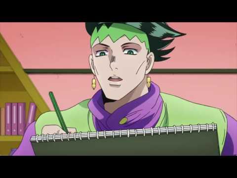 【HD】ジョジョ: Koichi vs. Rohan Kishibe!