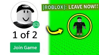 I Met ROBLOX In His Game..