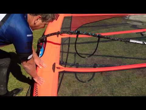 Severne Windsurf Sail – Turbo – Correct and Incorrect Tuning