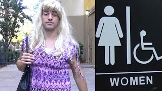 Transgender In Womens Bathroom Social Experiment
