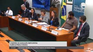 Legislação Participativa - Demandas e desafios dos Conselhos Tutelares do DF - 05/12/2019 14:30