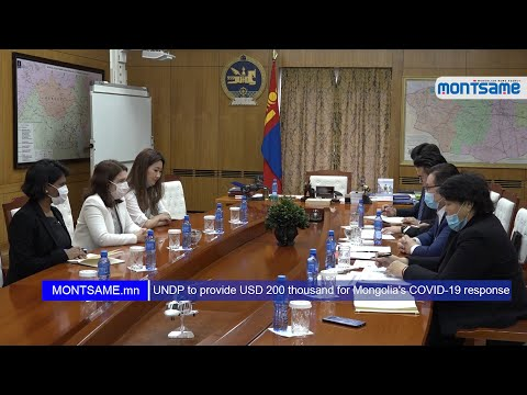 UNDP to provide USD 200 thousand for Mongolia's COVID-19 response