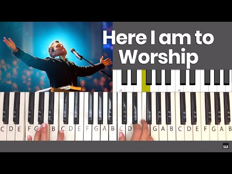 How To Play Here I Am To Worship - Piano Tutorial Mp3