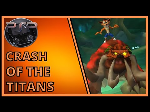 Crash Of The Titans - PSP Longplay
