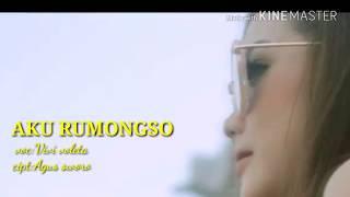 Lirik Lagu Aku Rumongso/vivi Voleta