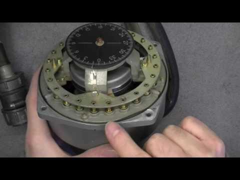 Soviet avionics teardown: KM-3 gyro (?) compass sensor