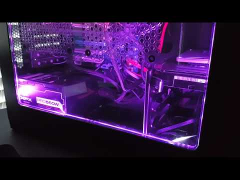 Purple LED Mod PC