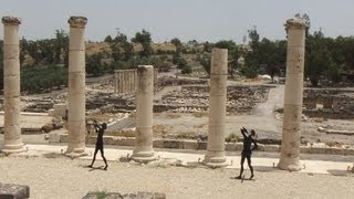 preview picture of video '[Israel 3D] Lower Galilee (5-1) Beit Shean National Park Part2'