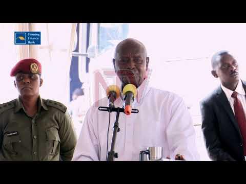 Museveni castigates URA manufacturers report tax body