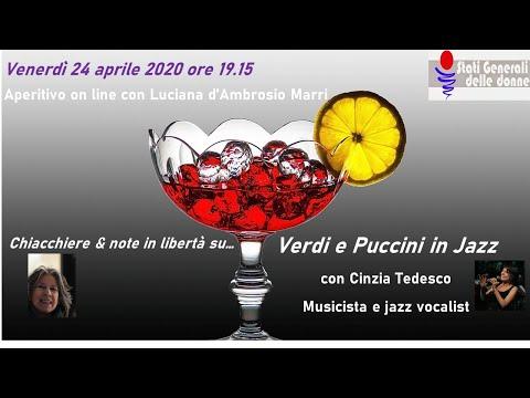 24/04/2020 Aperitivo con... Cinzia Tedesco - #StatiGeneraliDelleDonne