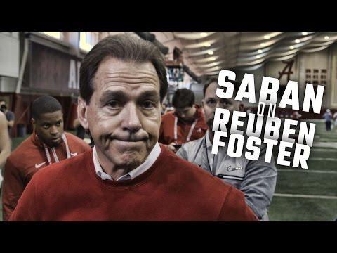 Nick Saban says Reuben Foster is no