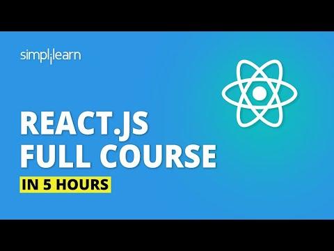 React JS Full Course For Beginners 2020  | Learn ReactJS In 5 ...