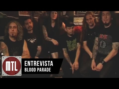 Bloodparade video Entrevista MTL - Temporada 1 - 2009