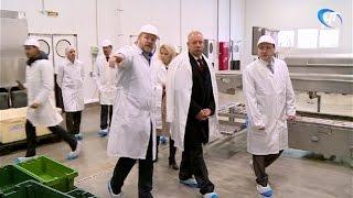 Сергей Митин посетил ряд предприятий сельского хозяйства и пищевой промышленности