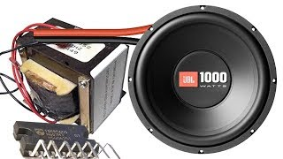 How to make home subwoofer amplifier (TDA8560Q)