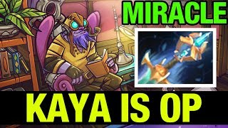 KAYA IS OP !! - MIRACLE - TINKER - Dota 2